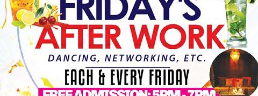 Summer Afterwork Fridays Labor Day Edition
