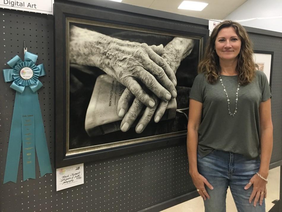 Downtown Art Gallery Hosts Art Show Winners