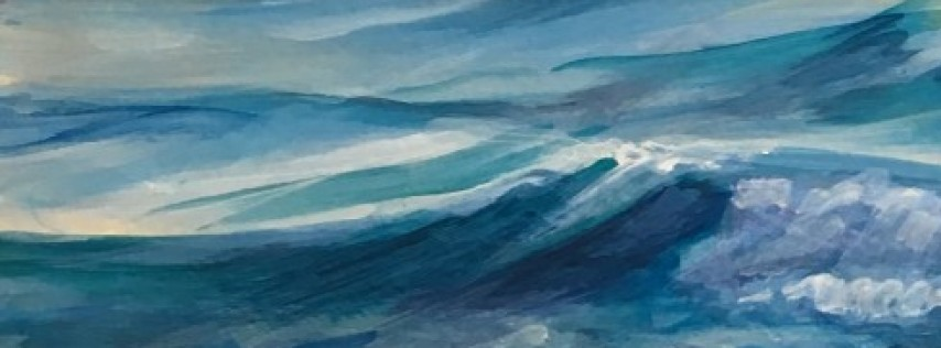 Paint the Beach Painting course with Jaymee Weinreich