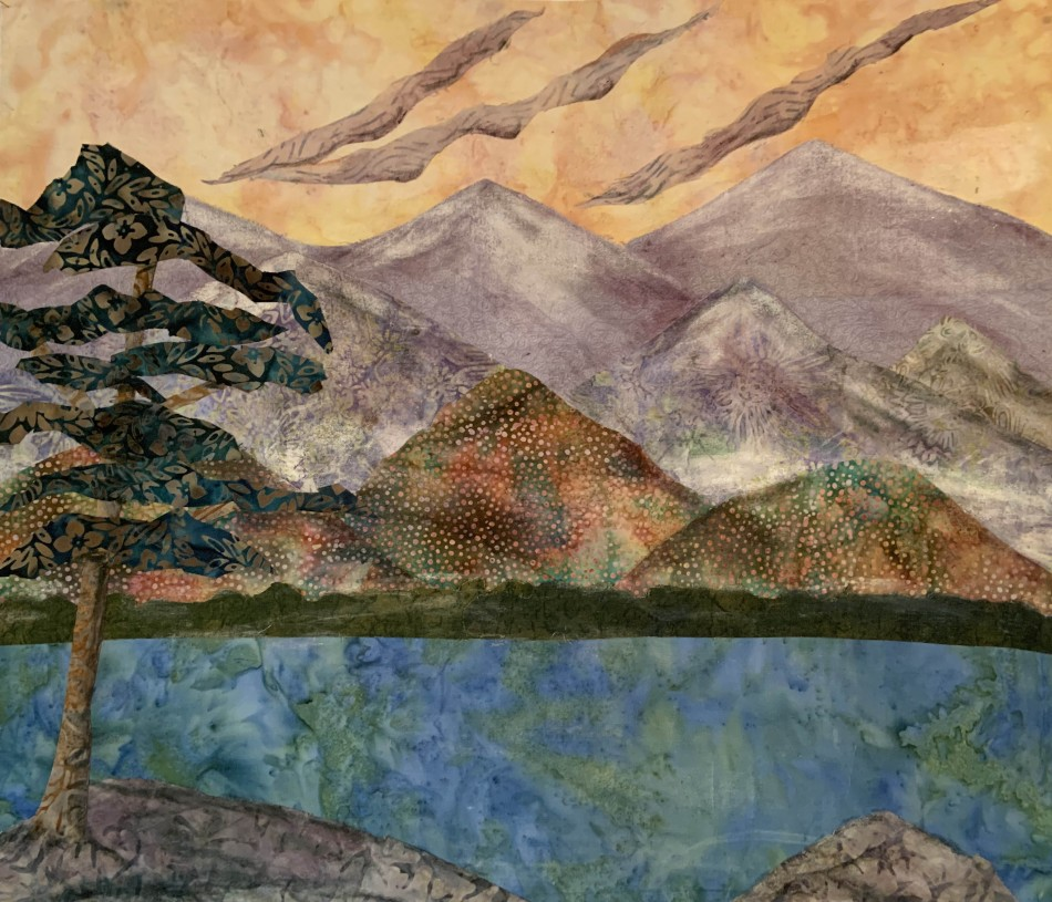 Create a Fabric Landscape Class with Dorothy Hulse