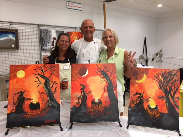 You are An Artist: Sip n Paint Party at Studios of Cocoa Beach