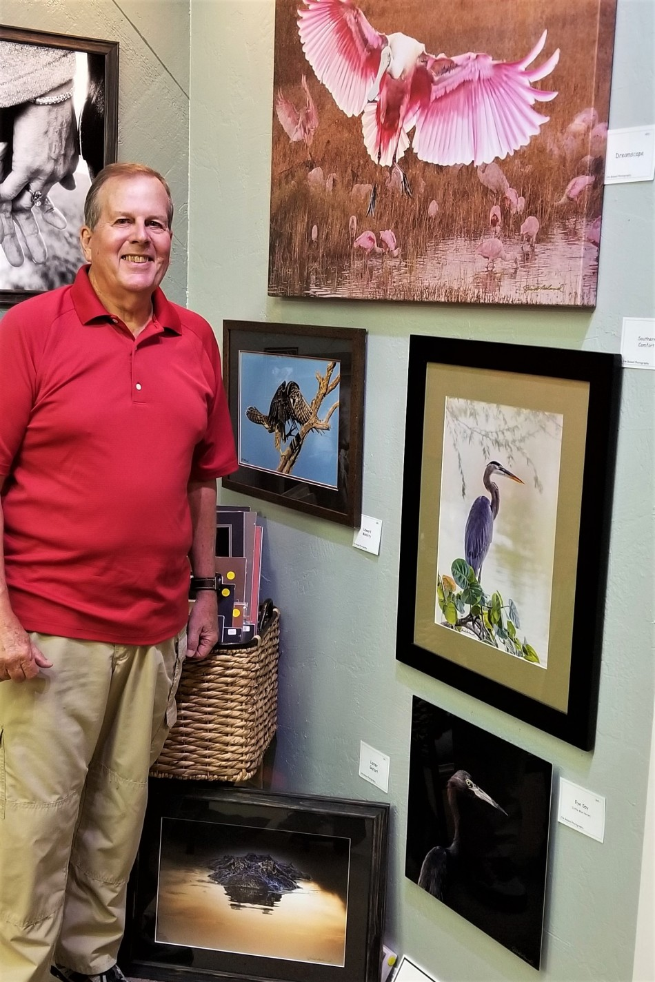 Jim Boland, January Spotlight Artist at Downtown Art Gallery