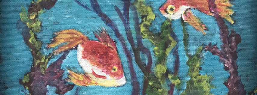 Teens Painting with Acrylics: Spring Break Class