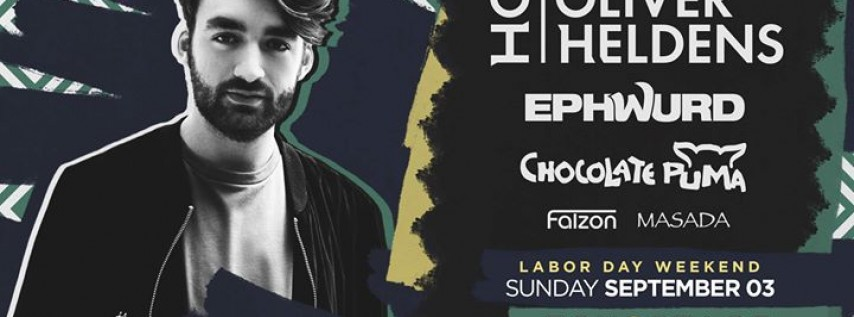 Oliver Heldens with Ephwurd + Chocolate Puma - Labor Day Weekend