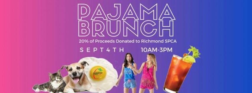 Labor Day Pajama Brunch to Benefit Richmond SPCA
