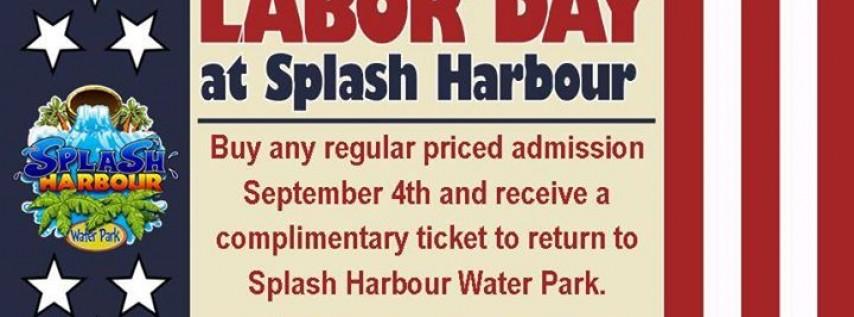 Labor Day at Splash Harbour