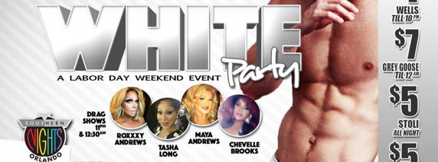 9.1.17 Flex Fridays WHITE PARTY 'Labor Day Weekend