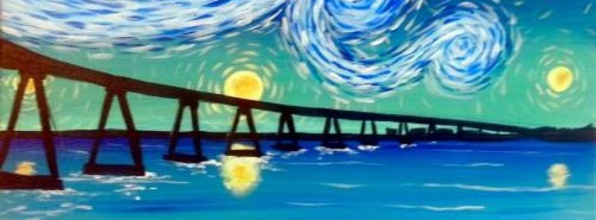Wine & Canvas: Starry Coronado