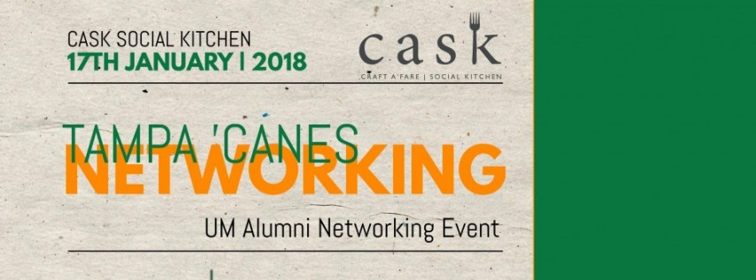 University of Miami Tampa Alumni Networking Event