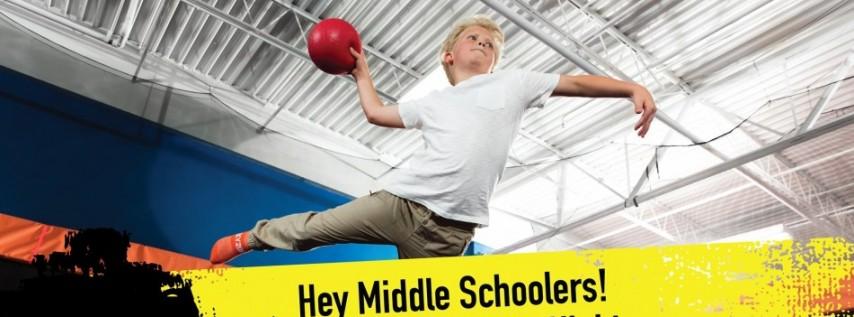 Middle School Dodgeball GLOW
