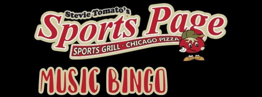 Music Bingo at Stevie Tomato's Sports Page