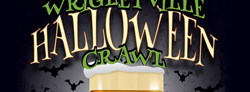 Wrigleyville Halloween Crawl in Chicago 2017
