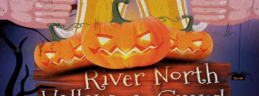 River North Halloween Crawl in Chicago 2017
