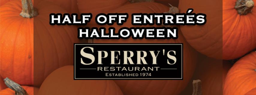 Halloween | Half Price Entrees