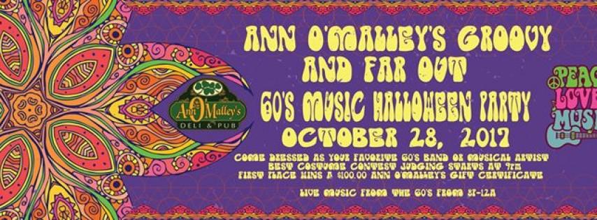 Ann O'Malley's Groovy Far out Halloween Party 2017