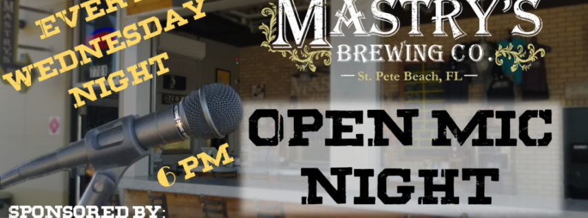 Open Mic Night at Mastry's
