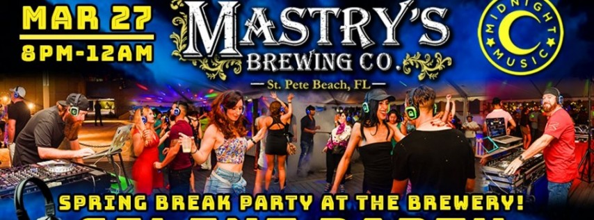 Spring Break Party at the Brewery