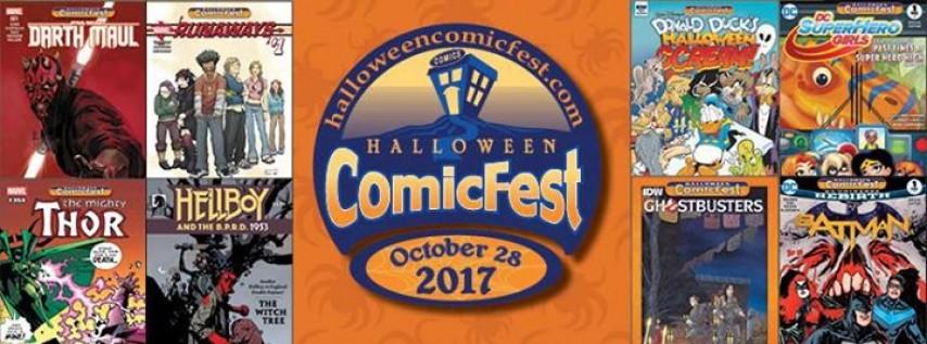 Halloween ComicFest 2017!, Brevard County FL - Oct 28, 2017 - 10:00 AM