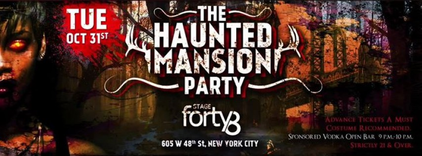The Haunted Mansion - NYC's Halloween Parade After-Party