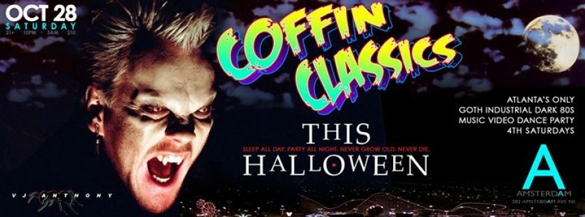 Coffin Classics : Halloween Goth Industrial Music Video Party