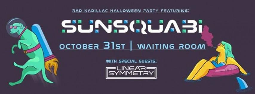 Sunsquabi w/ Linear Symmetry Halloween Party   Omaha