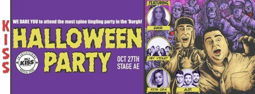 96.1 KISS Halloween Party featuring Daya at Stage AE!