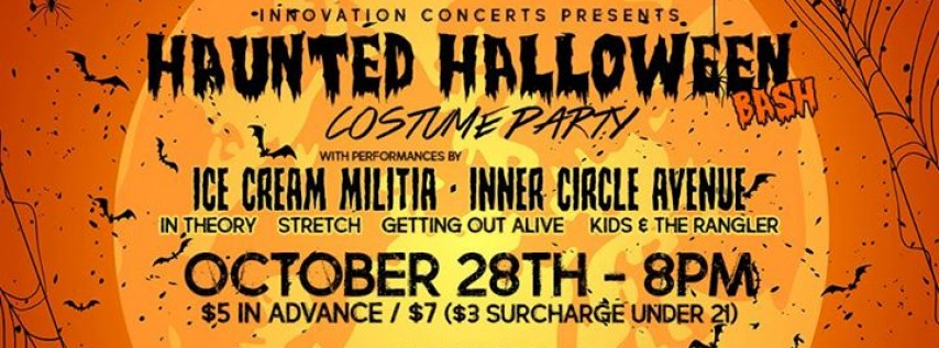 Haunted Halloween Bash (Costume Party) at Frankies 10/28