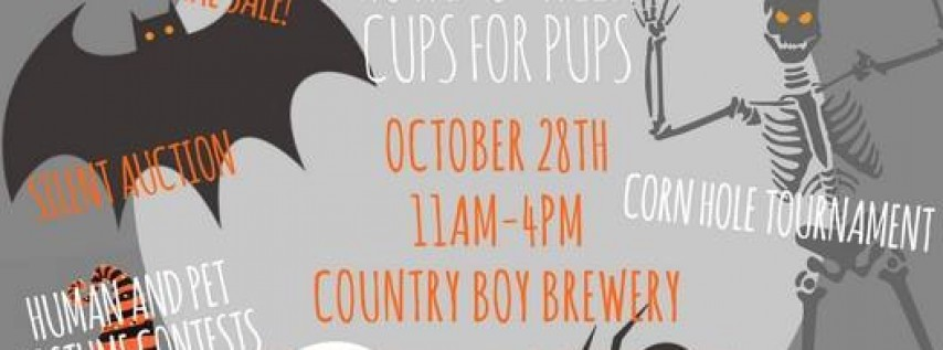 Howl-O-Ween Cups for Pups