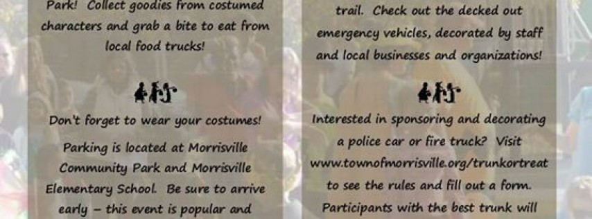 Trick or Treat /Trunk or Treat