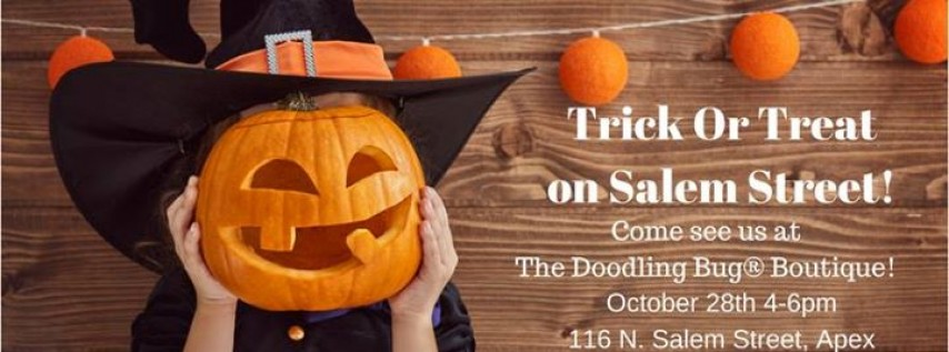 Trick or Treat-The Doodling Bug®