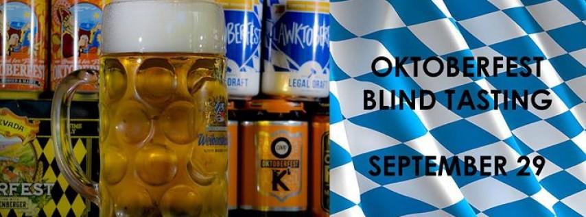 Oktoberfest Blind Tasting & Stein Night!
