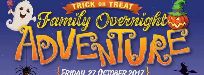 Trick-or-Treat Family Overnight Adventure