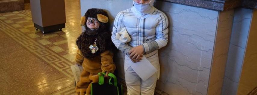 Halloween History Hunt