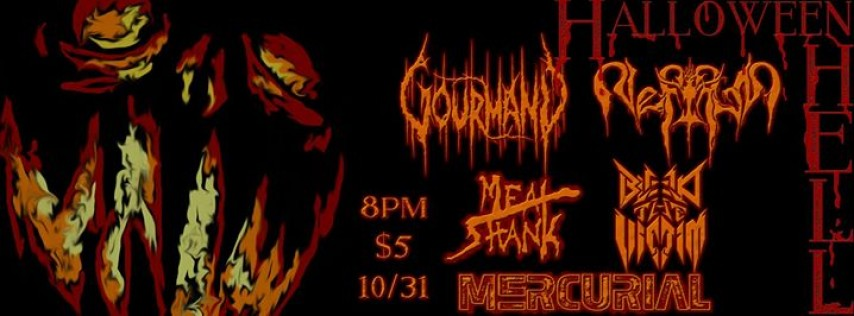 Halloween Hell w/ Gourmand at The Riot Room