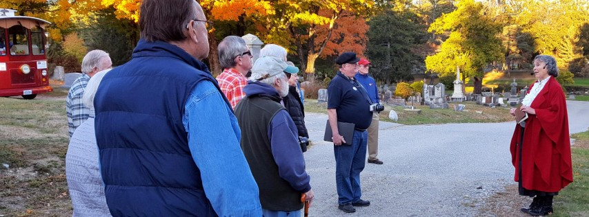 Famed Shipbuilders & Sea Captains of Bath, Cemetery & Trolley Tour