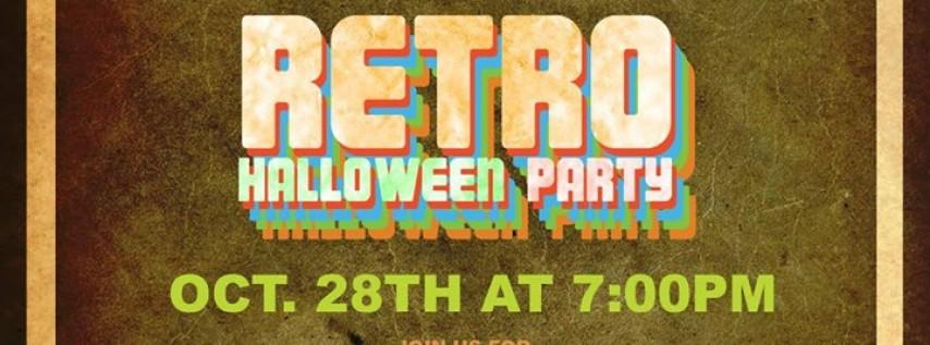 Retro Halloween Party!