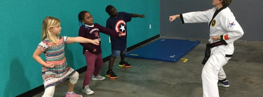 Kids Self Defense Classes with Studio Jear Group Fitness - Satellite Location - JJVA