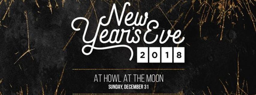 NYE 2018 at Howl at the Moon