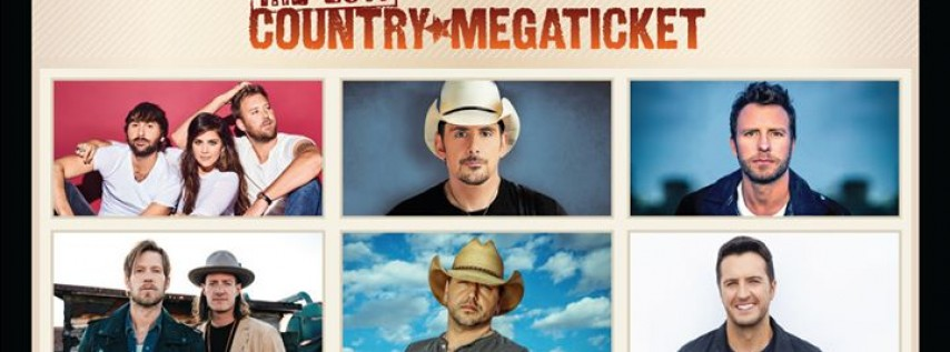 2017 Country Megaticket At Shoreline Amphitheatre