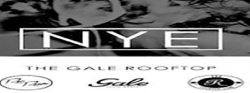New Year's Eve 2018 at The Gale Hotel Rooftop