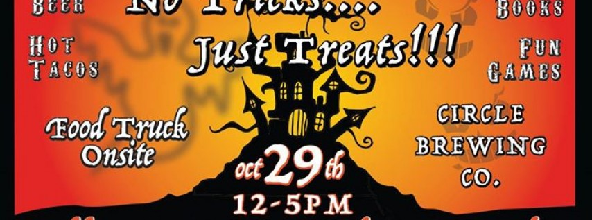 No Tricks Just Treats!!! Halloween Arts & Craft Beer Market