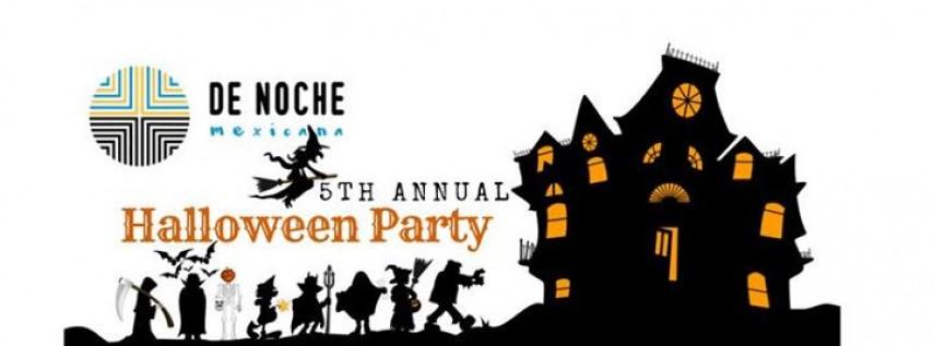De Noche's 5th Annual Halloween Costume Party