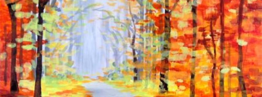 Wine & Canvas: Autumn Silence