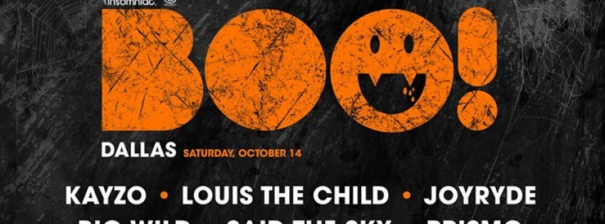 BOO Dallas 2017 - Kayzo w/ Louis The Child + Joyryde and More!