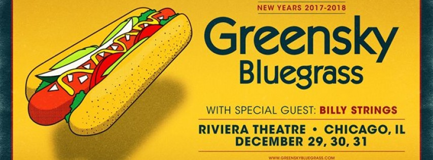 Greensky Bluegrass at Riviera Theatre - New Year's Eve!