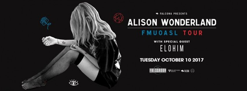 Alison Wonderland at The Pressroom
