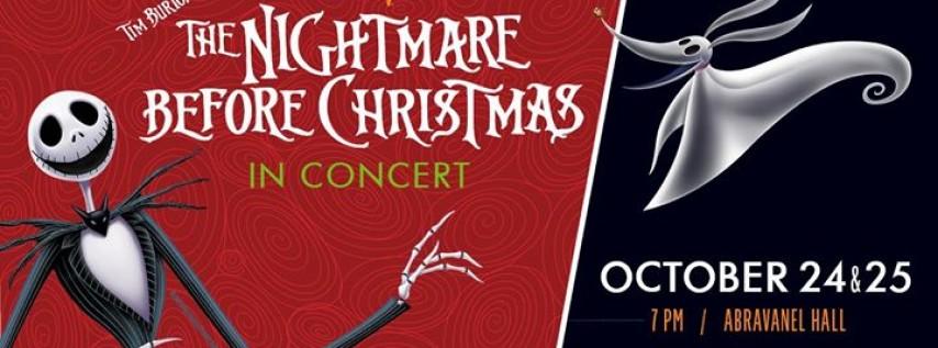 Disney in Concert: Tim Burton's The Nightmare Before Christmas