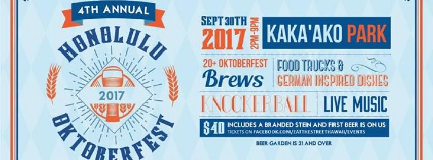Eat The Street: 4th Annual Honolulu Oktoberfest