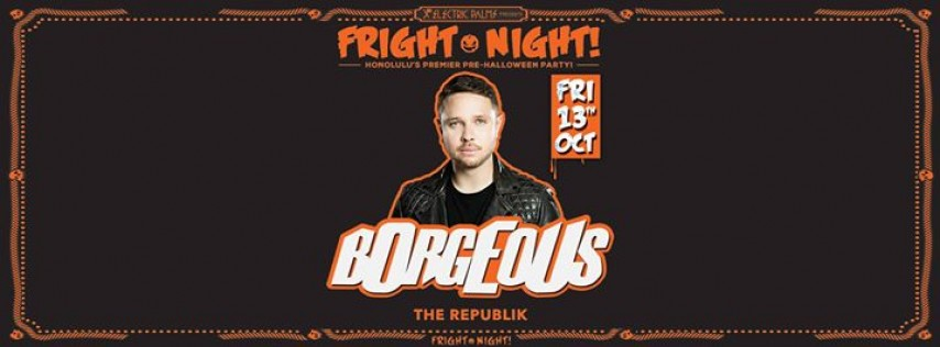 Electric Palms presents Fright Night ft. Borgeous