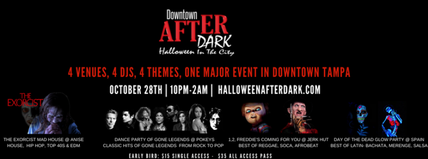 downtown after dark halloween in the city 2017 tampa fl oct 28 2017 1000 pm - Halloween Tampa Fl